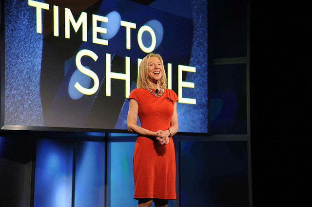 Penn President, Amy Gutmann, at the Penn Campaign Celebration in Hong Kong.