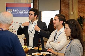 WCAI Student-Alumni networking event at Wharton San Francisco