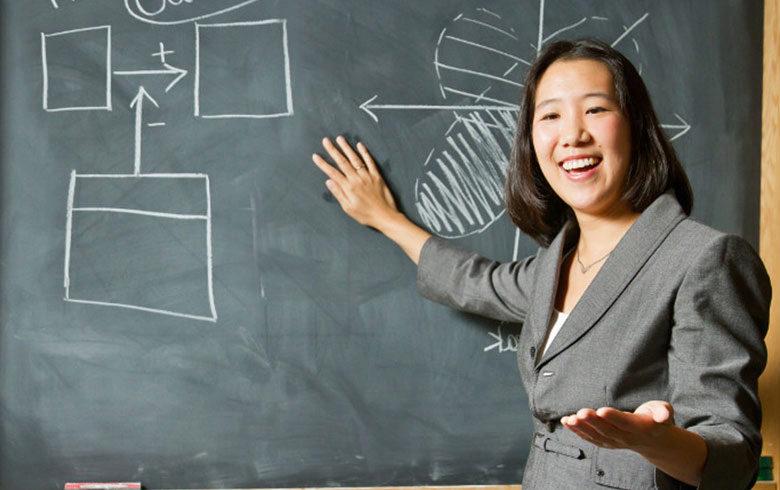 Wharton Professor Laura Huang