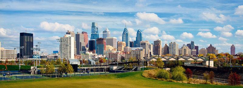 Wharton MBA Philadelphia Skyline